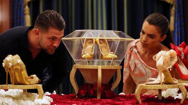 Termahal di Dunia, Sepatu Berlian di Dubai Dijual Rp250 M