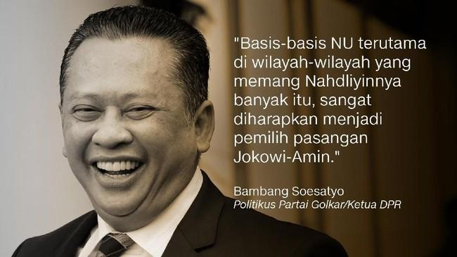 Bambang Soesatyo, Politikus Partai Golkar/Ketua DPR.