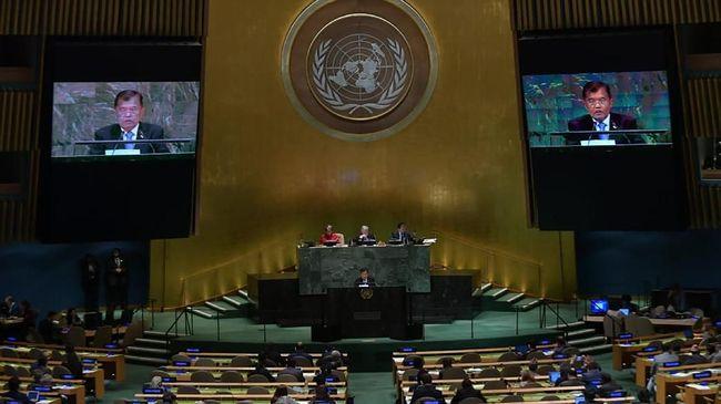 JK Bahas Teror Surabaya di Sidang Majelis Umum PBB