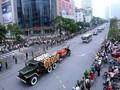 FOTO: Salam Perpisahan Vietnam untuk Presiden Tran Dai Quang