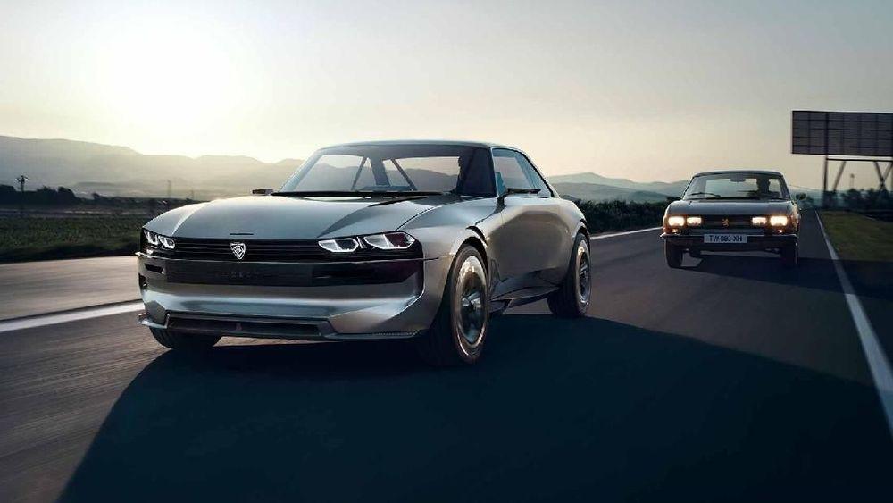 Peugeot E-Legend, mobil konsep pabrikan asal Prancis ini akan tampil di Paris Motor Show 2018. (Istimewa/Autocar.co.uk)