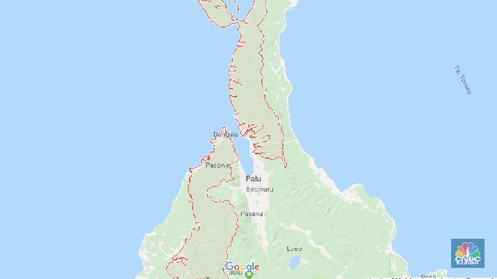 Peringatan Dini Tsunami Gempa 7,7 SR Donggala Resmi Dicabut