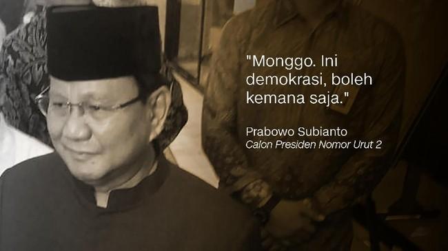 Prabowo Subianto, Calon Presiden Nomor Urut 2.