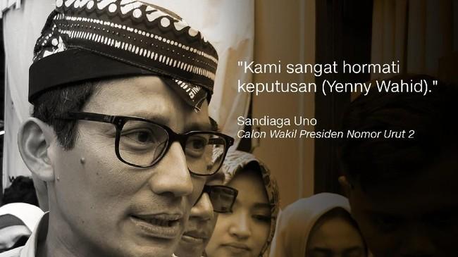 Sandiaga Uno, Calon Wakil Presiden Nomor Urut 2.