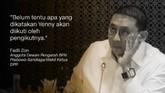 Fadli Zon, Anggota Dewan Pengarah BPN Prabowo-Sandiaga/Wakil Ketua DPR.