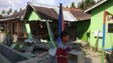Palu dan Donggala porak-poranda setelah diguncang gempa dan tsunami pada Jumat (28/9). (ANTARA FOTO/HO/BNPB-Sutopo Purwo N/pras/180