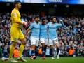 Sterling Bawa Man City Unggul Atas Brighton di Babak Pertama