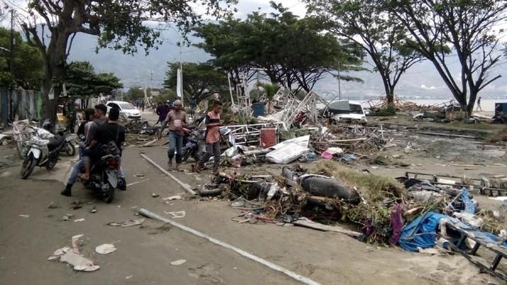 Korban gempa di Palu diminta tidak khawatir terkait dengan ketahanan pangan.