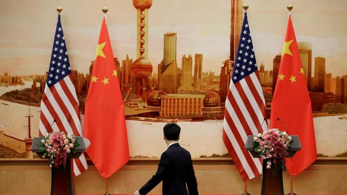 Jelang Pertemuan Trump-Xi, China Minta AS Ampuni Huawei Cs