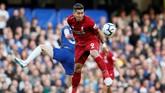 Liverpool sempat mendominasi serangan di babak pertama, namun justru Chelsea yang mampu mencetak keunggulan. (REUTERS/David Klein)