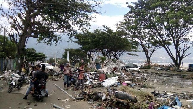 BNPB Pakai Citra Satelit LAPAN Cari Titik Terparah Gempa Palu