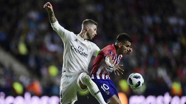 Jadwal Siaran Langsung Derby Atletico Madrid vs Real Madrid