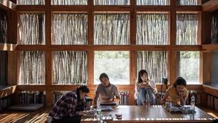 FOTO: Hangatnya Perpustakaan Kayu di Jepang