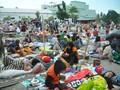 Kebutuhan Logistik Pengungsi Gempa Palu Menipis