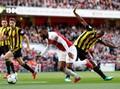 Arsenal Menang Susah Payah Atas Watford di Liga Inggris