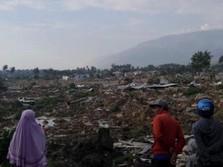 BNPB: Korban Meninggal Dunia di Palu Capai 384 Orang
