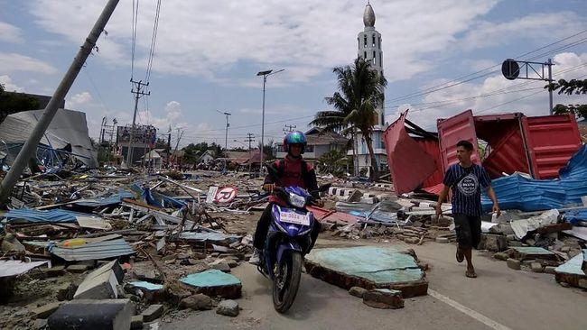 Diguncang Gempa, Hotel Roa-Roa di Palu Rata dengan Tanah