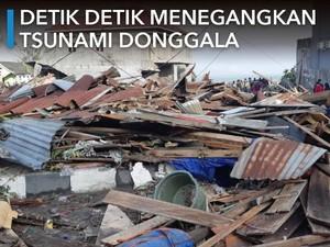 Detik-detik Gempa dan Tsunami di Donggala dan Palu
