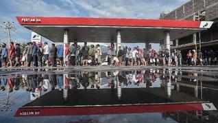 Masyarakat Palu Mulai Bisa Akses SPBU dan Bank Hari Ini