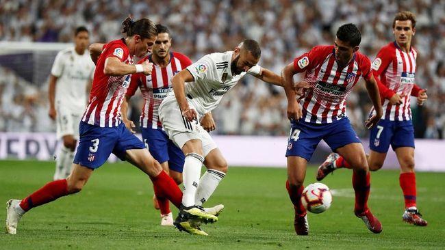 Prediksi Atletico Madrid vs Real Madrid di Liga Spanyol