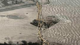 Jembatan Kuning, 'Warisan' SBY yang Kini Tergerus Tsunami