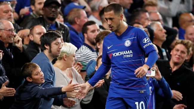 Eden Hazard Diklaim Capai Kesepakatan dengan Madrid