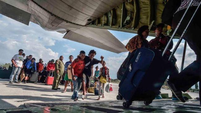 TNI Catat 75 Ribu Orang Eksodus dari Palu Usai Gempa