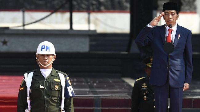Jokowi Pimpin Upacara Hari Kesaktian Pancasila 2019