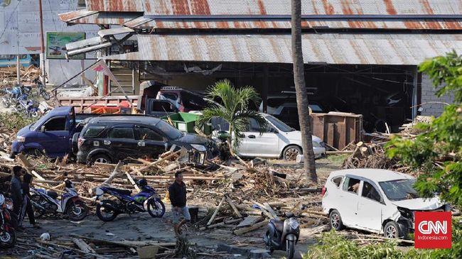 Korban Tewas Gempa dan Tsunami Palu-Donggala Capai 844 Orang