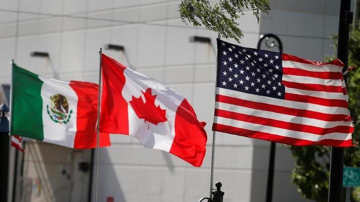 AS, Meksiko, & Kanada Teken Pakta Perdagangan Akhir November