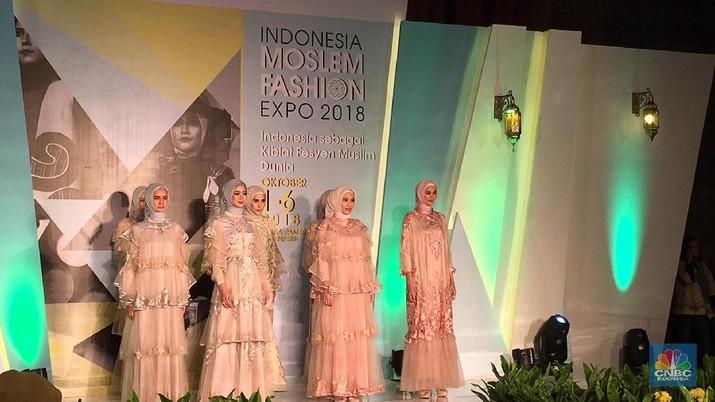 Industri fesyen RI terus berkembang setiap tahun.