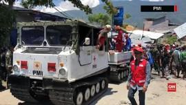 VIDEO: Evakuasi Tim SAR Gabungan Menggunakan Hagglund PMI