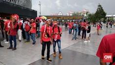 Timnas Indonesia Didukung 1.600 Suporter Saat Lawan Singapura