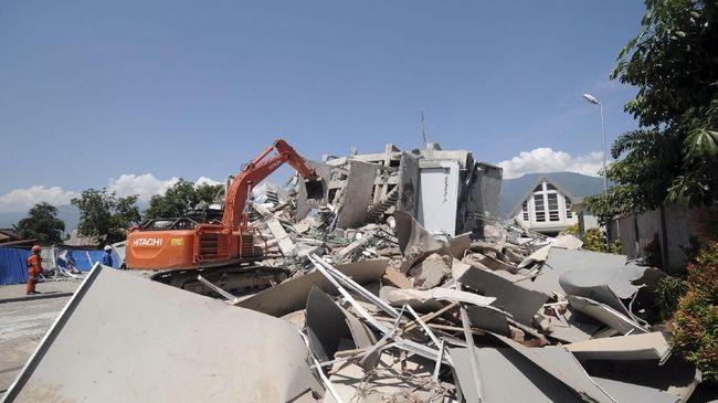 Pemerintah Bentuk Pusat Logistik Peralatan Penanganan Gempa
