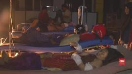VIDEO: RS Hancur, Pasien Dirawat di Luar Tanpa Penerangan