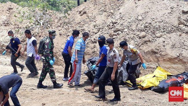 Korban Tewas Gempa Palu Mulai Dimakamkan Massal