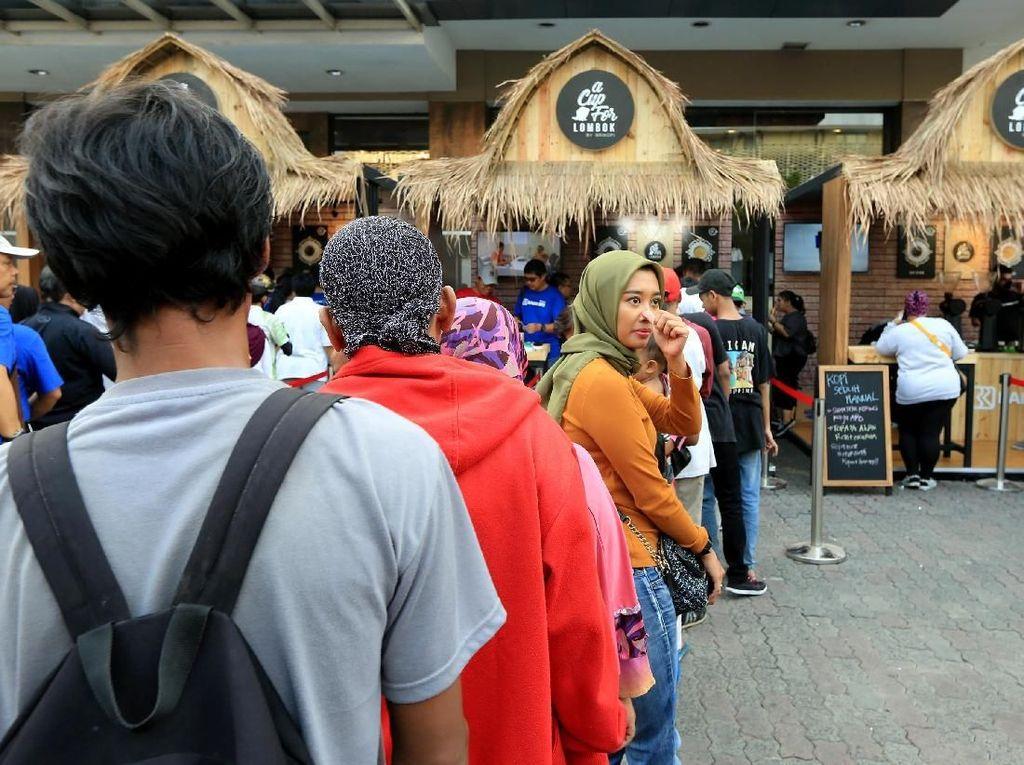 Antre Kopi demi Donasi untuk Korban Bencana Lombok