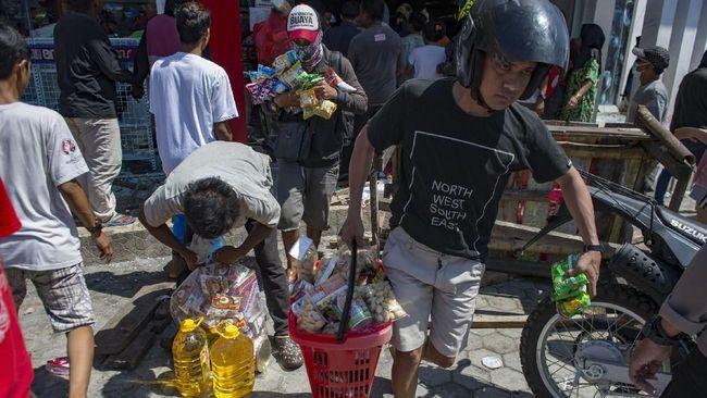 Penjarah di Palu dan Donggala Dicap Kriminal oleh Polisi