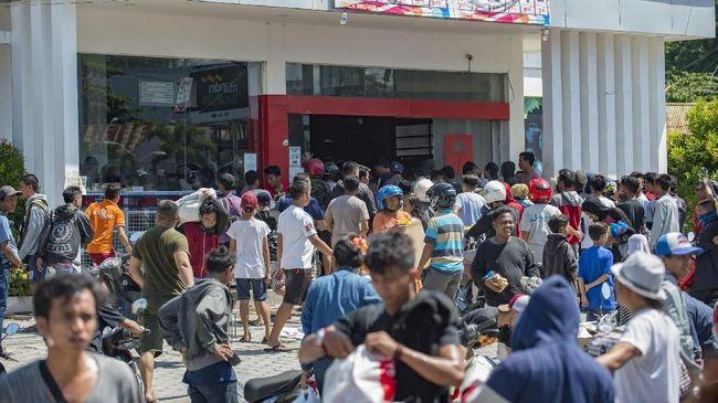 Penjarah Jebol Toko Handphone di Palu, Polisi Turun Tangan