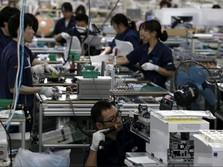 Kali Pertama dalam 19 Bulan, Manufaktur China Tumbuh Negatif