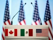 Damai, AS Cabut Tarif Impor Baja-Aluminium Kanada & Meksiko