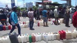 VIDEO: Takut Dijarah, SPBU Palu Tunda Tambah Stok BBM