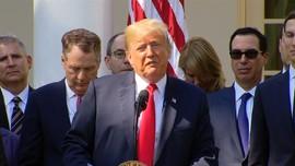 VIDEO: Trump Ungkap Belasungkawa Untuk Korban Tsunami Palu