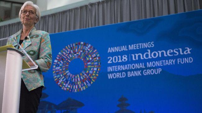 IMF: Ekonomi 2018 Lebih Baik dari 2008, Tapi Tak Cukup Aman
