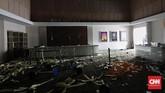 Polisi menyatakan bahwa mereka memahami kondisi warga Kabupaten Donggala dan Kota Palu yang 'terpaksa' mengambil barang-barang kebutuhan pokok, mengingat masa krisis usai gempa dan tsunami. (CNN Indonesia/Adhi Wicaksono)