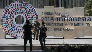 Gempa Jatim Terasa hingga Bali, Delegasi IMF-WB Tak Waswas