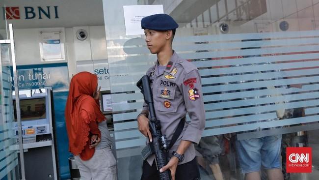 Tercatat sebanyak lima kantor cabang PT Bank Negara Indonesia (Persero) sudah beroperasi. Terdiri dari, satu kantor di Kota Palu danempat cabangdi Parigi. (CNNIndonesia/Adhi Wicaksono).