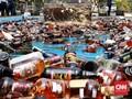 Polda Metro Musnahkan 8.350 Botol Miras