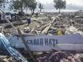FOTO: Pantai Taipa Palu Pascagempa dan Tsunami