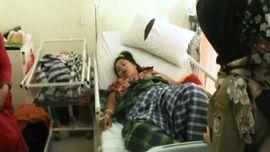 VIDEO: Korban Gempa Palu Lahirkan Bayi Kembar Tiga